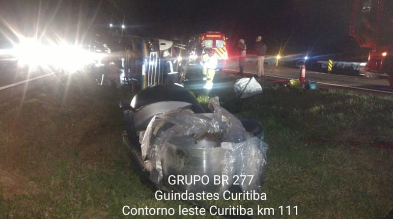 Carreta Tombada BR-116