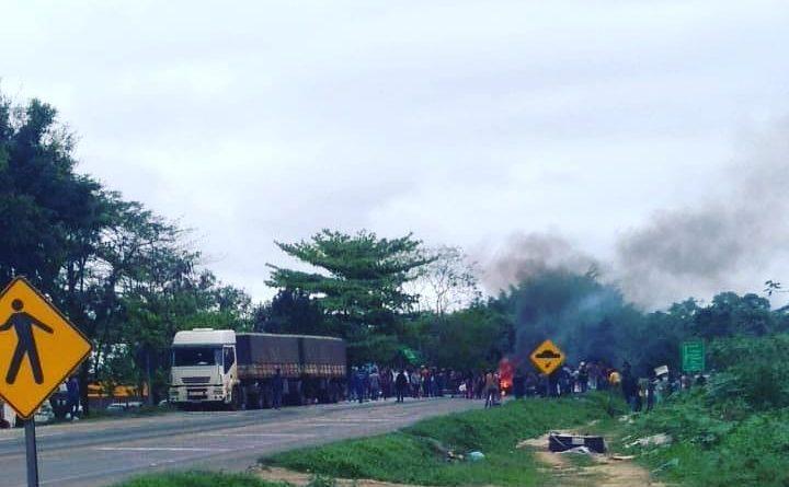 Manifestação Paranaguá