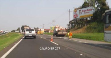 Obras BR-277 Campo Largo