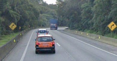 BR-376 Tijucas do Sul km 657