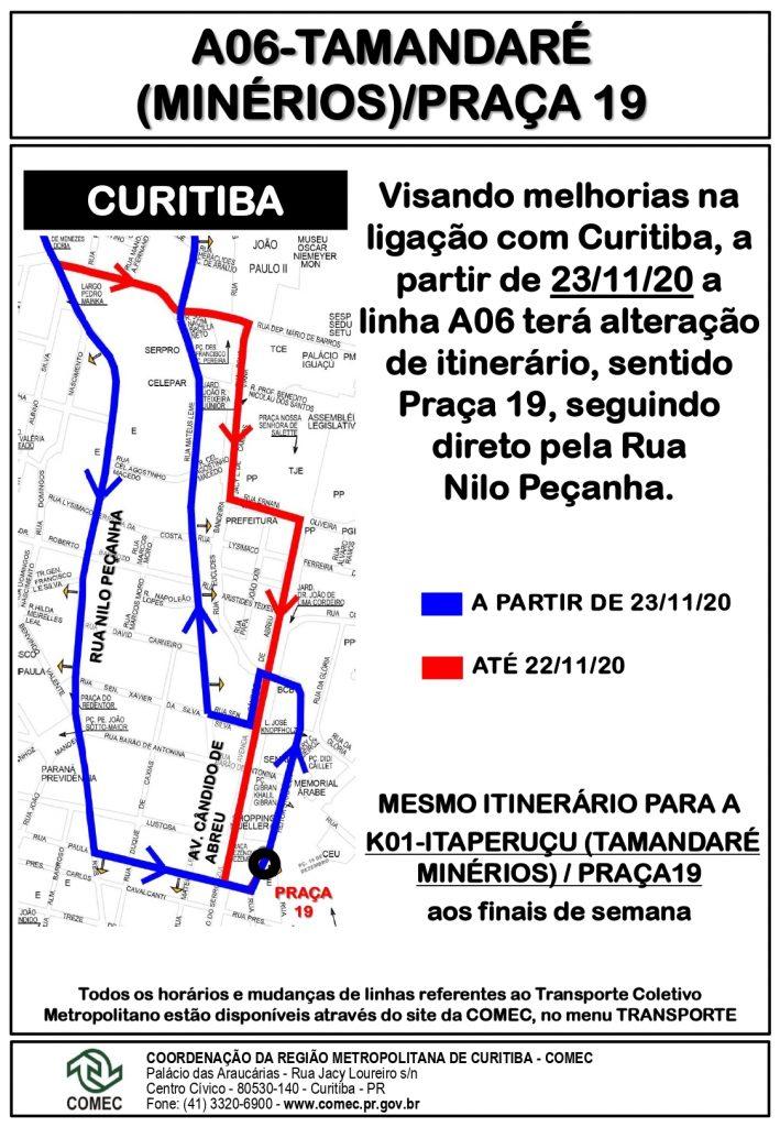 Linha Praça 19