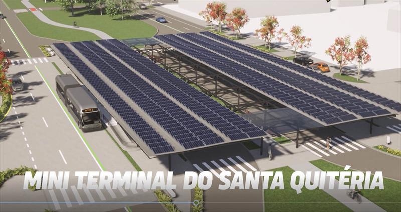 Mini terminal Santa Quitéria