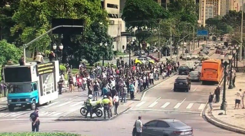 Manifestação Centro