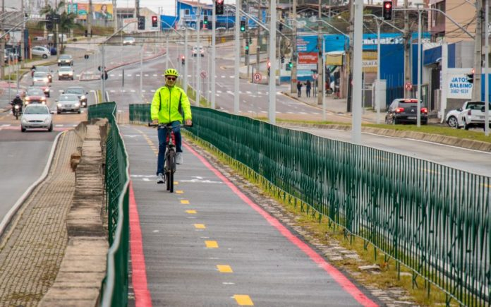 Avenida das Américas Bicicleta