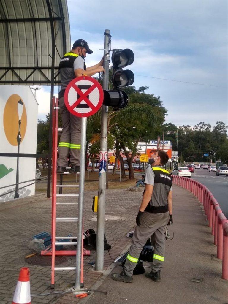 Semáforo Rua da Cidadania