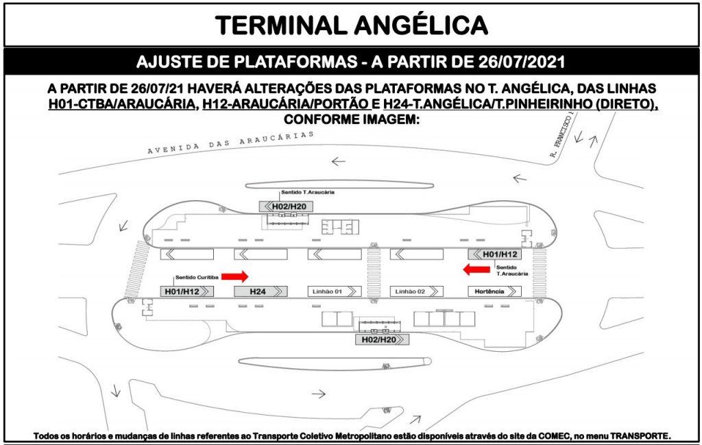 Terminal Angélica Linhas